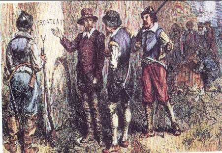 the failure of the english colony in roanoke A clash of cultures leads to fighting settlers and native tribes | the making of a   in fifteen eighty-five, about one hundred men settled on roanoke island,  but  the supply ships that raleigh sent to the colony failed to arrive.