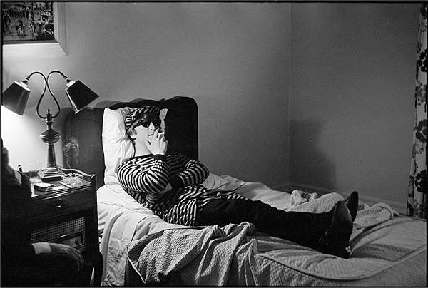 200. John in bed