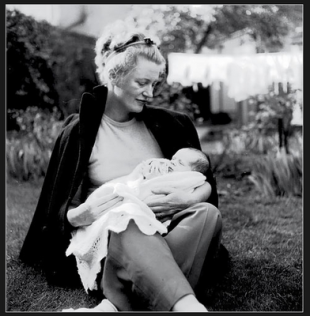 Lee Miller and son Anthony Penrose
