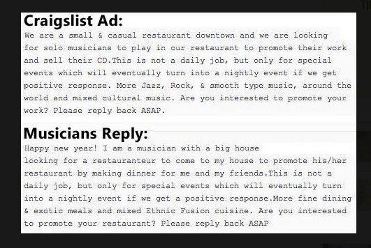 240. Craigs List Musician