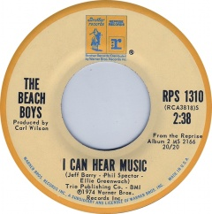 Image result for the beach boys - i can hear music